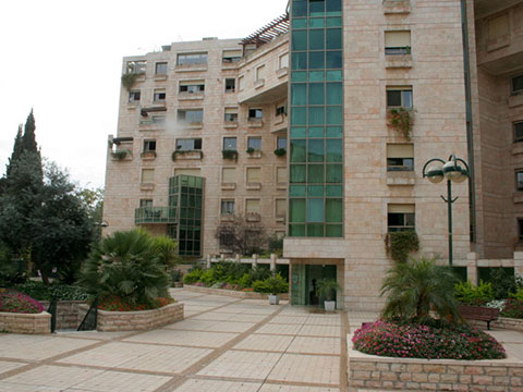 2.5 bedroom apartment with garden patio in the Heart of Rechavia